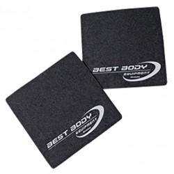 Best Body Nutrition Griffpolster Paar Muskelaufbau Kraftsport schwarz