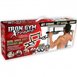 Iron Gym Xtreme Multifunktions-Trainings-Stange Bauch - Rückentrainer