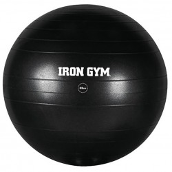 Iron Gym Exercise Ball 55cm Gymnastikball Fitnessball Sitzball + Pumpe